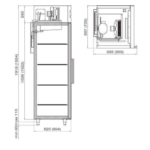 схема шкаф морозильный шн 0.7